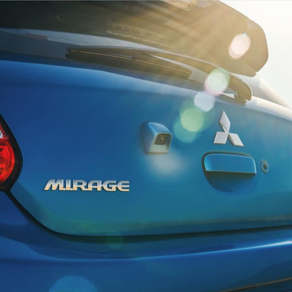 New Mitsubishi Mirage Teal Blue Subcompact Hatchback