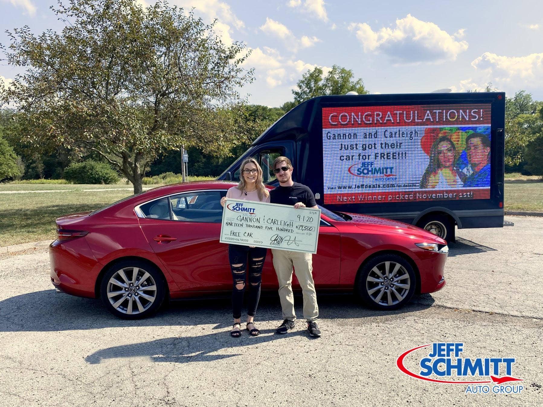 Jeff Schmitt Free Car Giveaway Winners