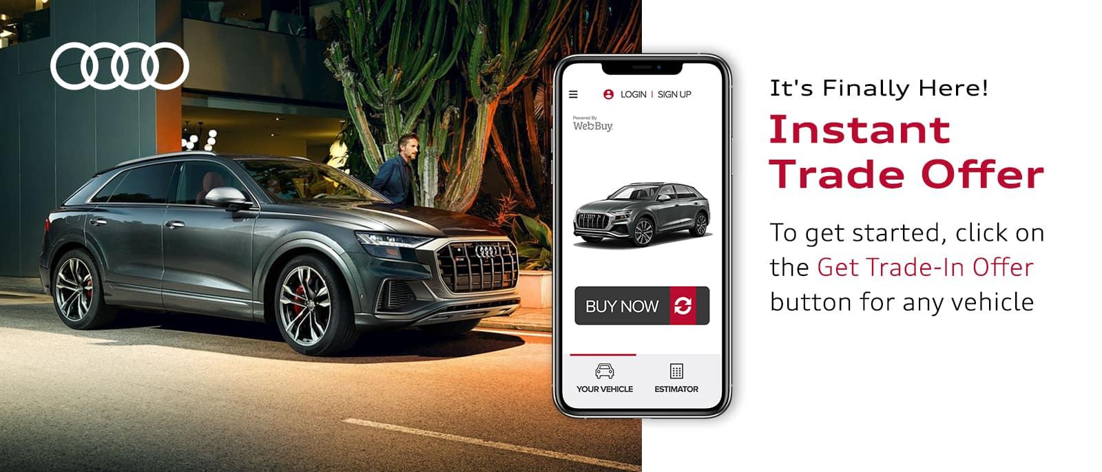 Audi Trade Offer