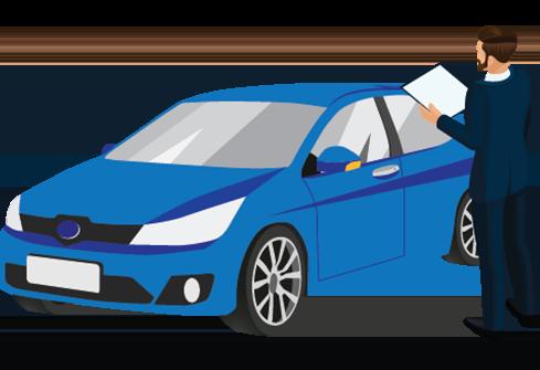 Blue Car Icon 1