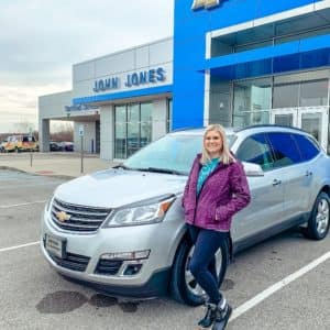 Scottsburg Brittany Rock Chevrolet Traverse JGoines 2