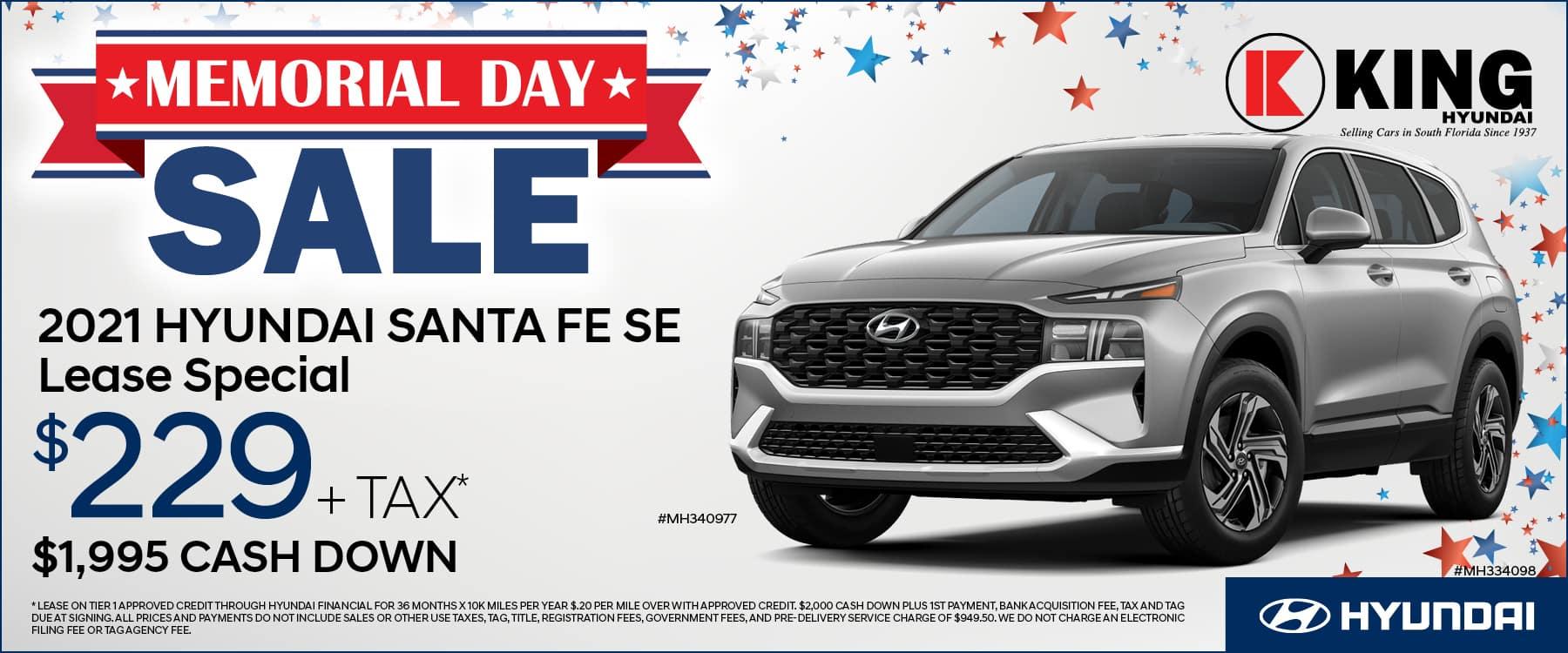 KNH-213210 King Hyundai MemDay Banners 1800×750 Santa Fe