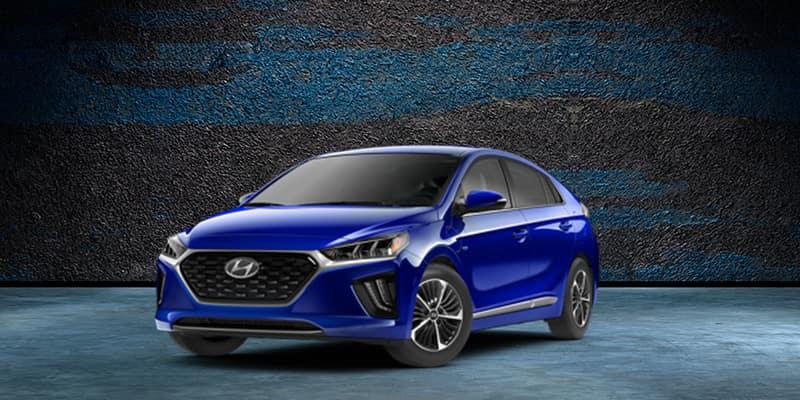 2020 Hyundai Ioniq Hybrid Blue FWD 4D Hatchback