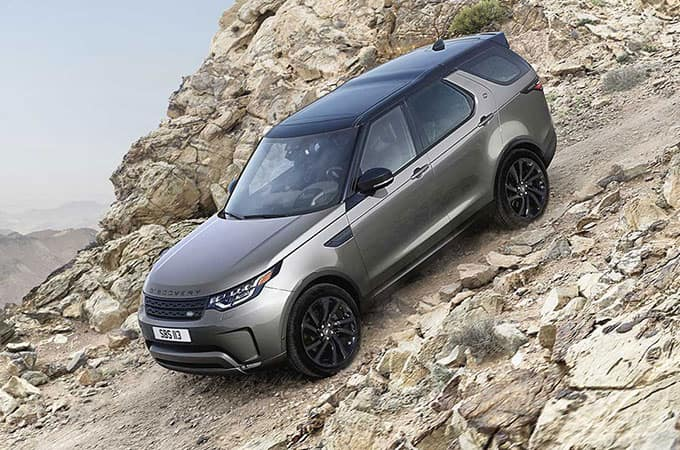 LAND ROVER DISCOVERY Versitility