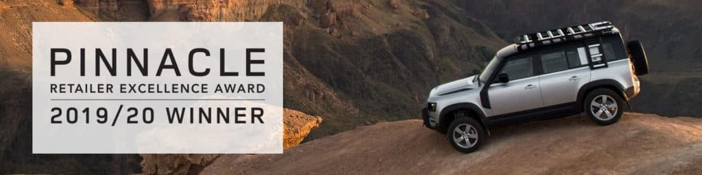 Land Rover Denver Pinnacle Award