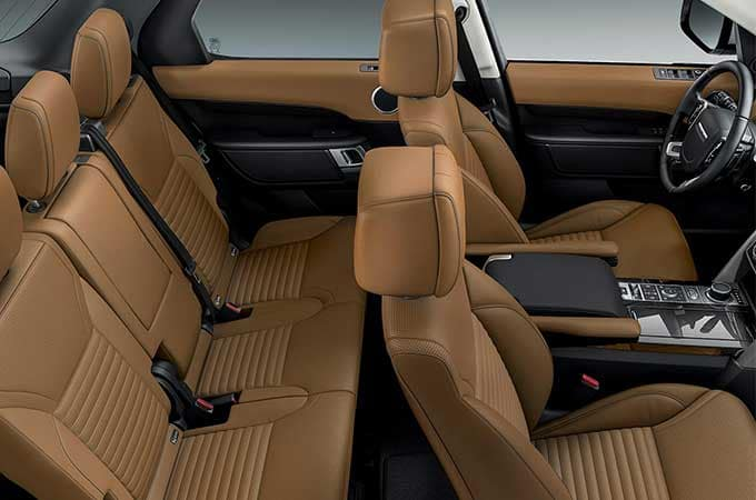 LAND ROVER DISCOVERY LEGROOM