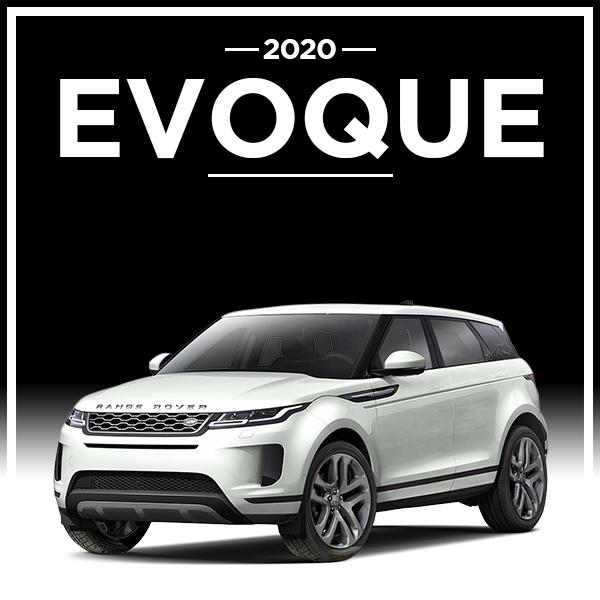 Dealer Loaner 2020 Land Rover Range Rover Evoque