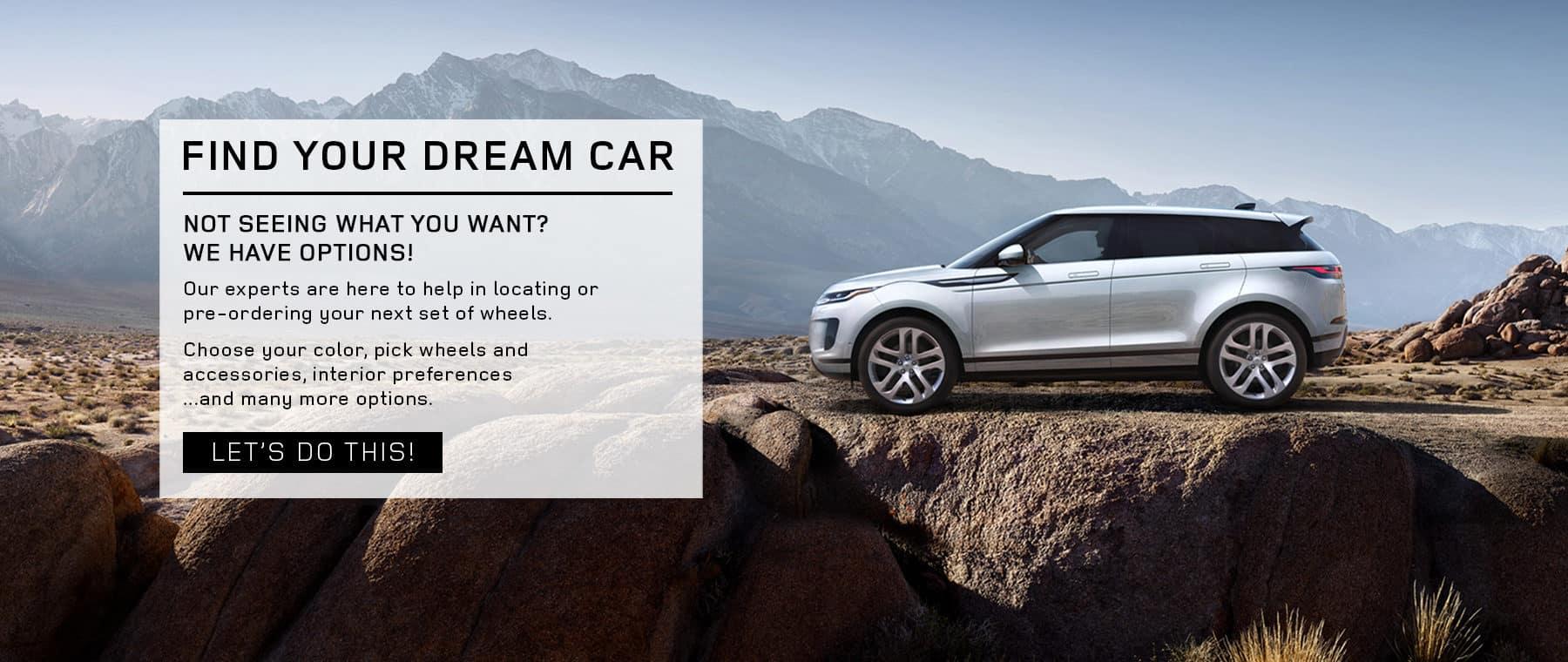 Holman Land Rover Denver Pre-Order Dream Car