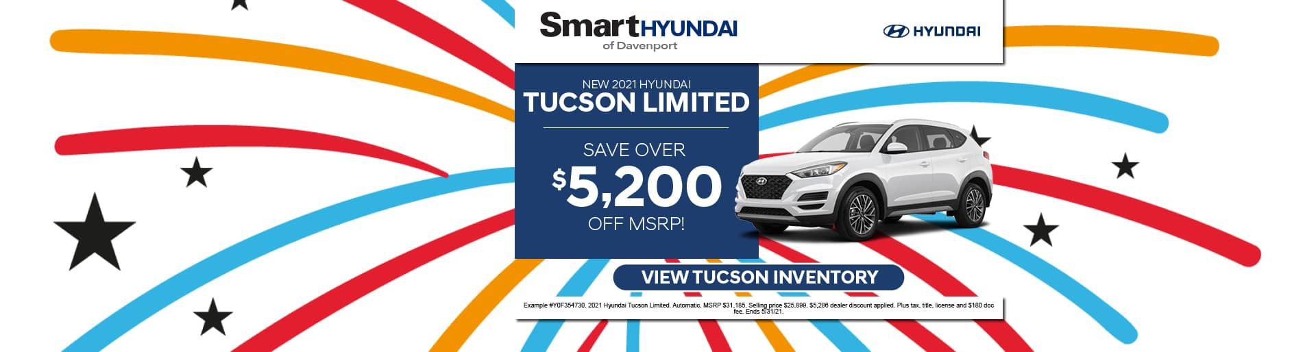 Tucson Offer