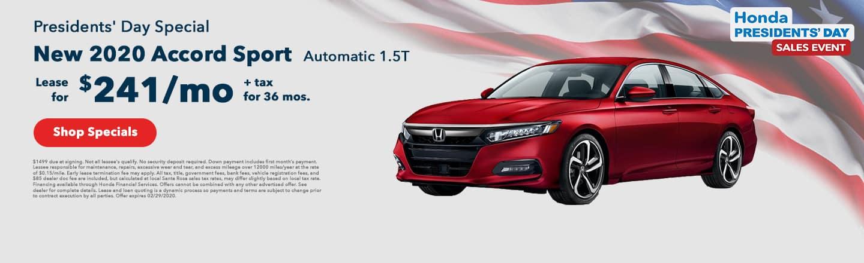 Lease Honda Accord