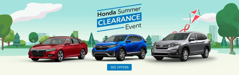 Honda Clearance