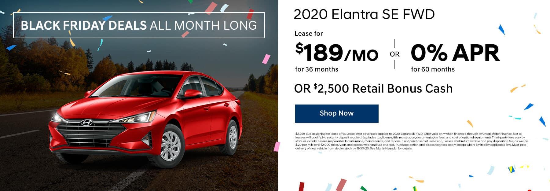2020 Elantra offers