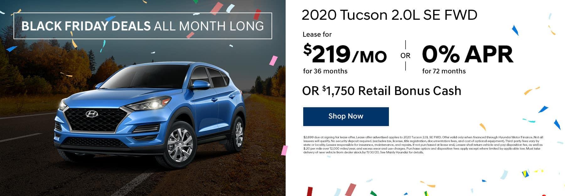 2020 tucson offer