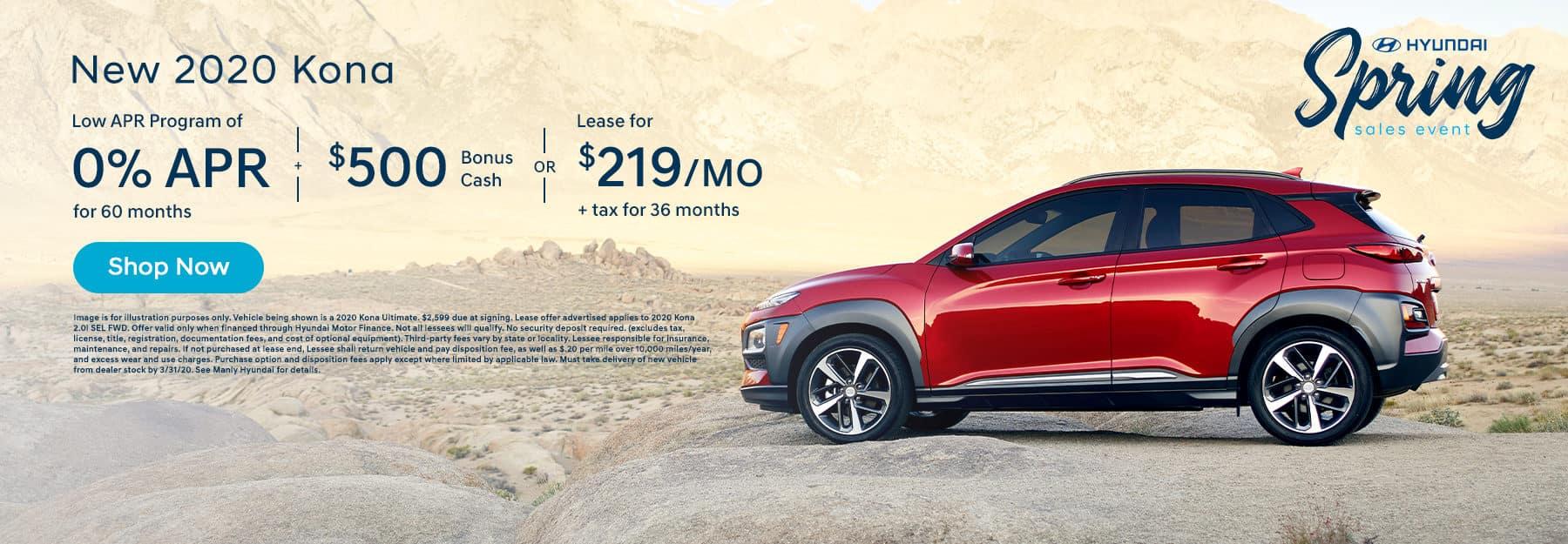 Lease Hyundai Kona