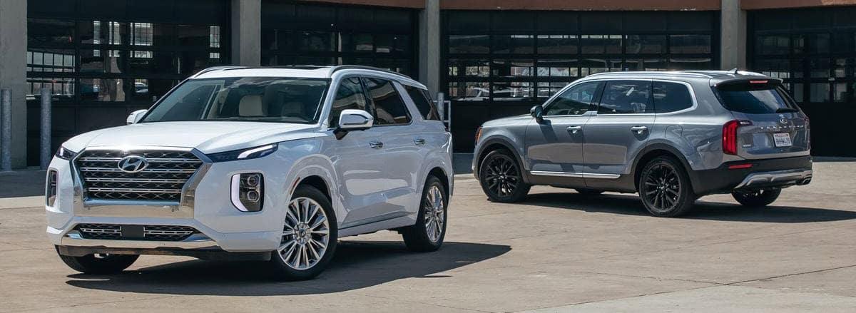Vallejo area Hyundai dealer - 2020 Hyundai Palisade vs 2020 Kia Telluride