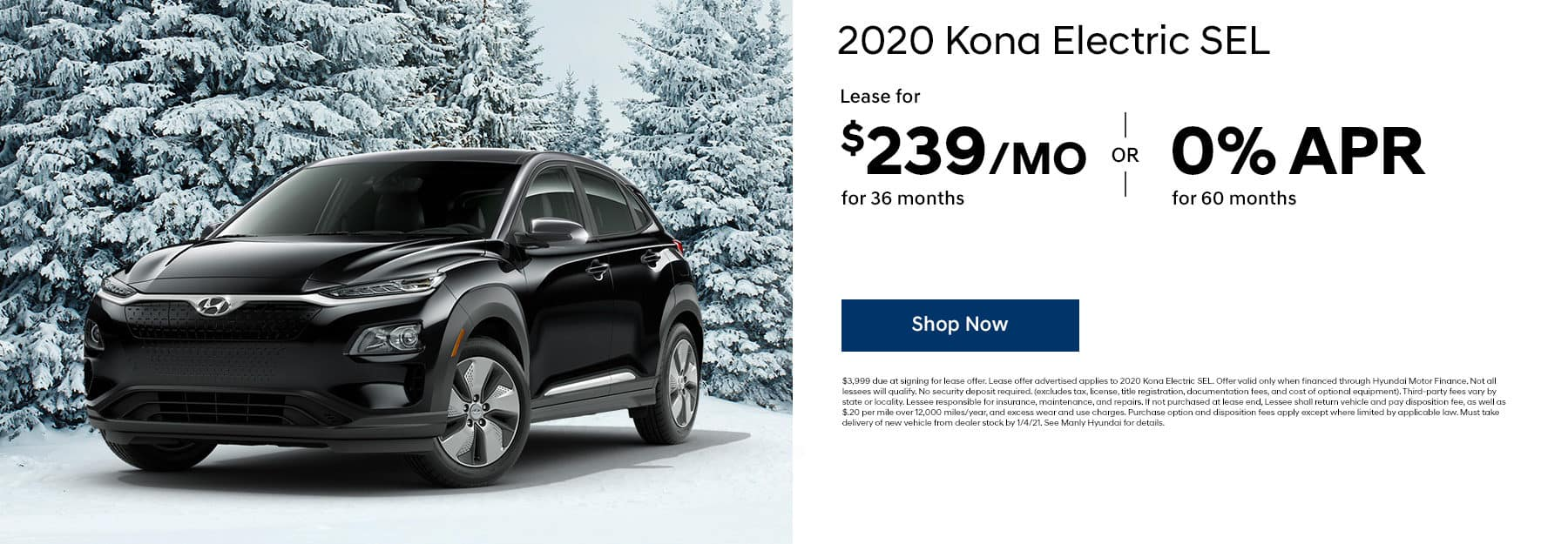 2020 Kona Electric SEL