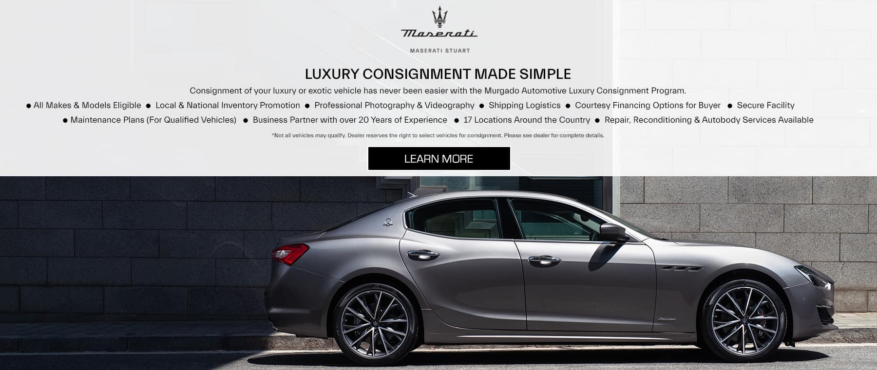 Maserati Stuart luxury consignment