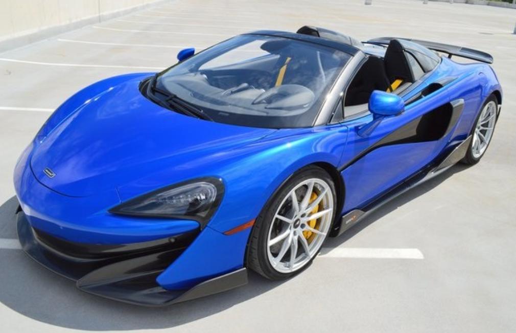 2020 McLaren 600LT Spider DEMO!!!