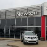 Newton Nissan Sounth dealership front