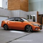 2020 orange nissan sentra