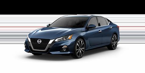 Nissan Altima angled