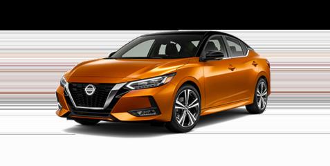Nissan Sentra angled