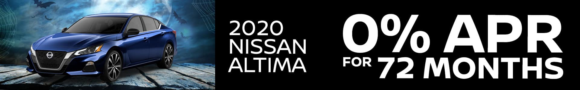 2020 Nissan Altima 0% APR for 72 Months