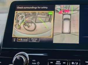all-new 2021 nissan armada with backup and all around view cameras