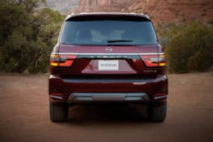 all new nissan armada picture - rear