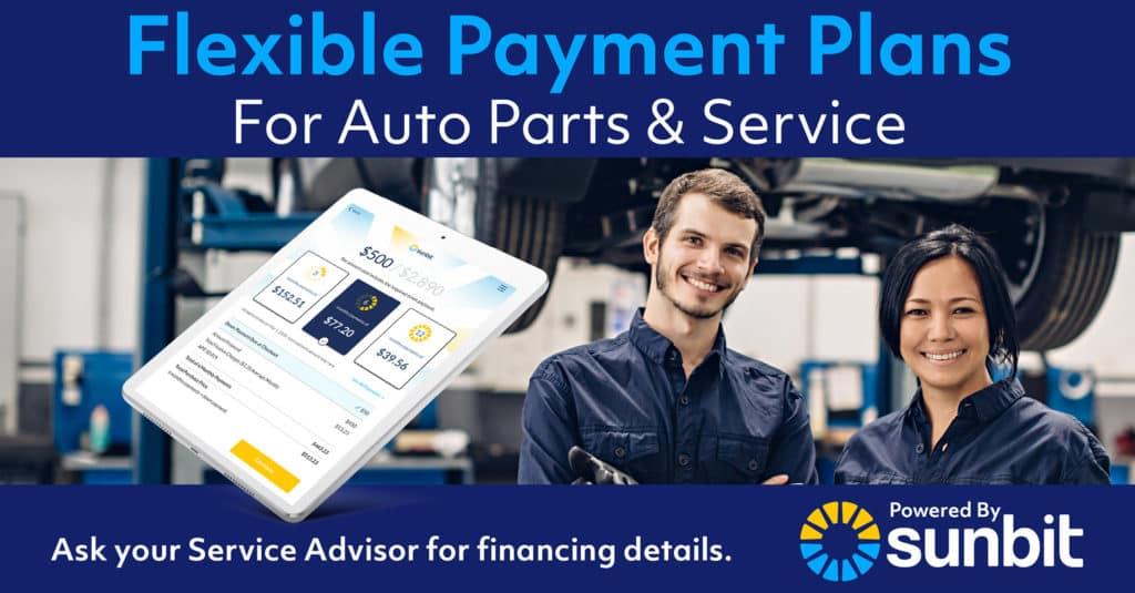 Sunbit Auto Service / Car Repair Financing Now Available at Newton Nissan South Near Murfreesboro TN
