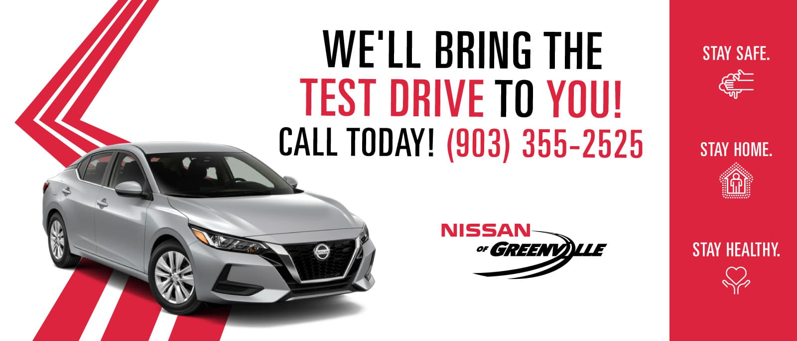 We'll Bring the Test Drive to You