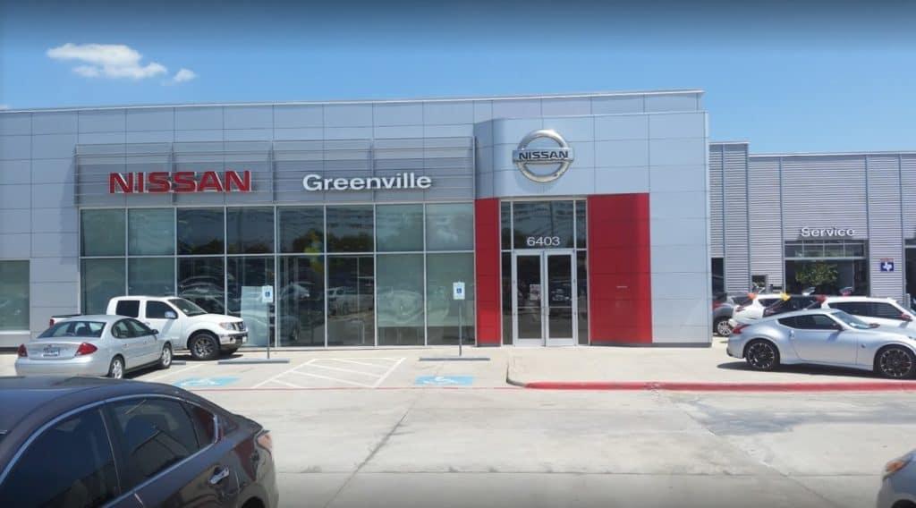 Nissan Dealership in Greenville, Texas