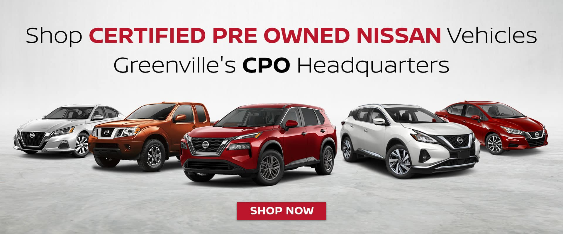 Certified Pre Owned Nissan For Sale In Greenville
