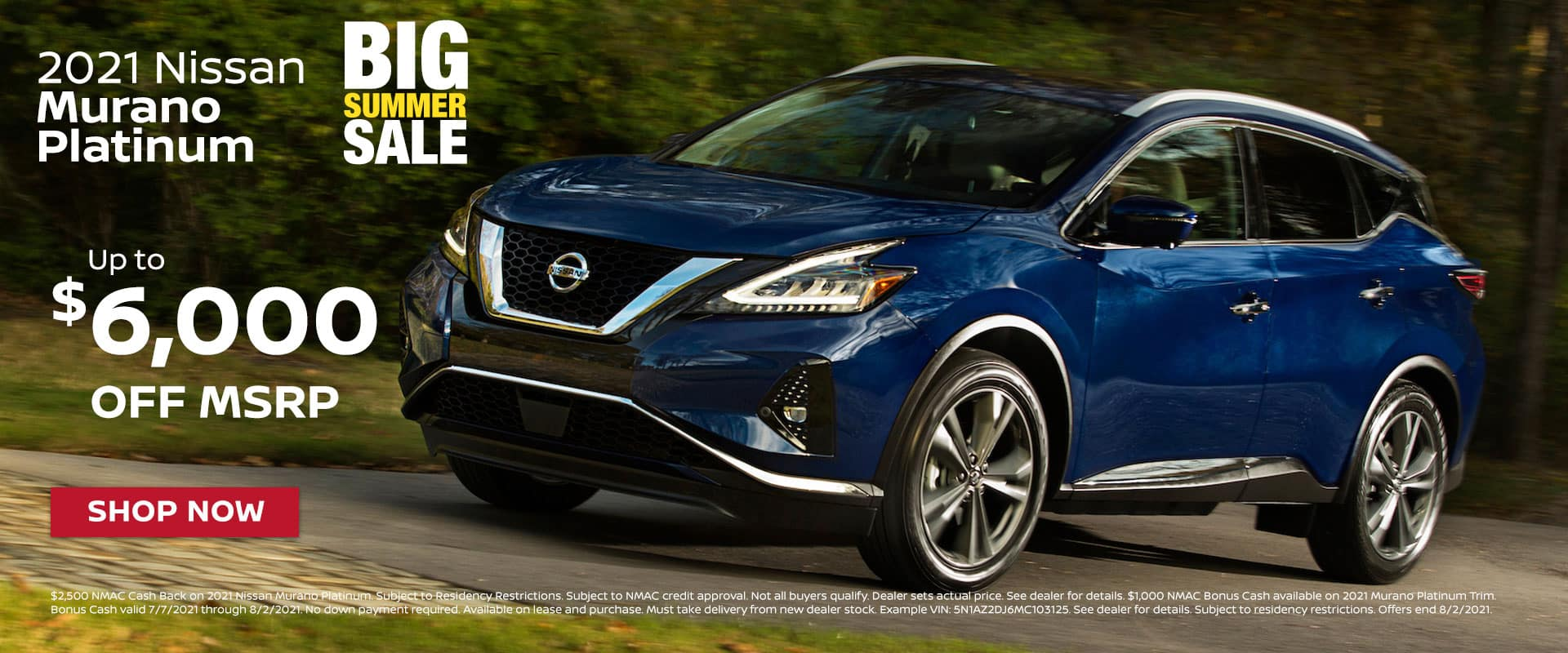 New 2021 Nissan Murano Platinum For Sale In Greenville