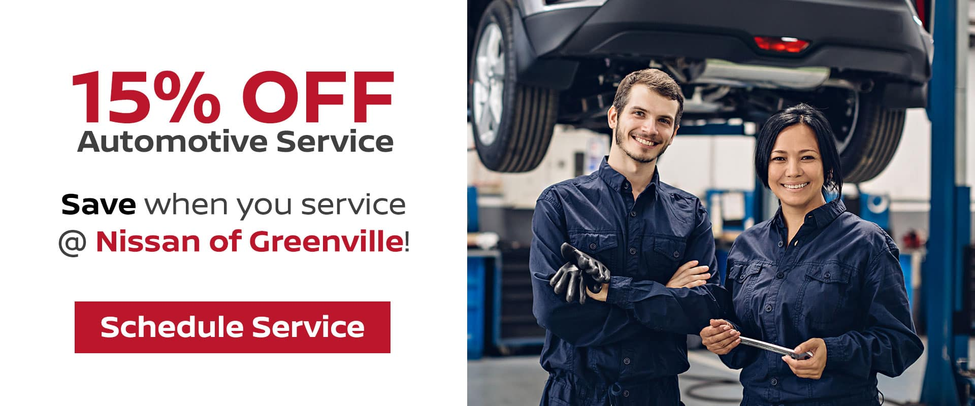 Get 15% Off Auto Maintenance In Greenville