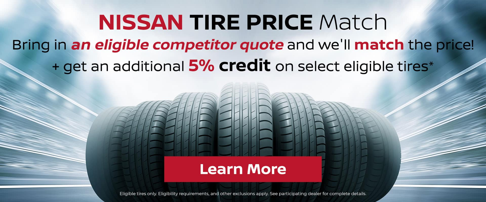 Nissan Of Greenville Tire Price Match Guarantee