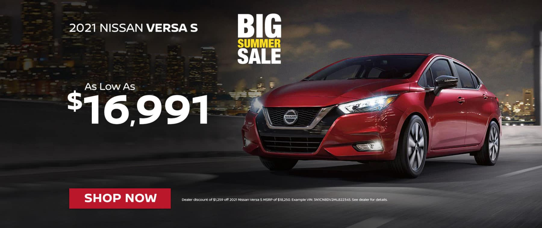New 2021 Nissan Versa S For Sale In Greenville