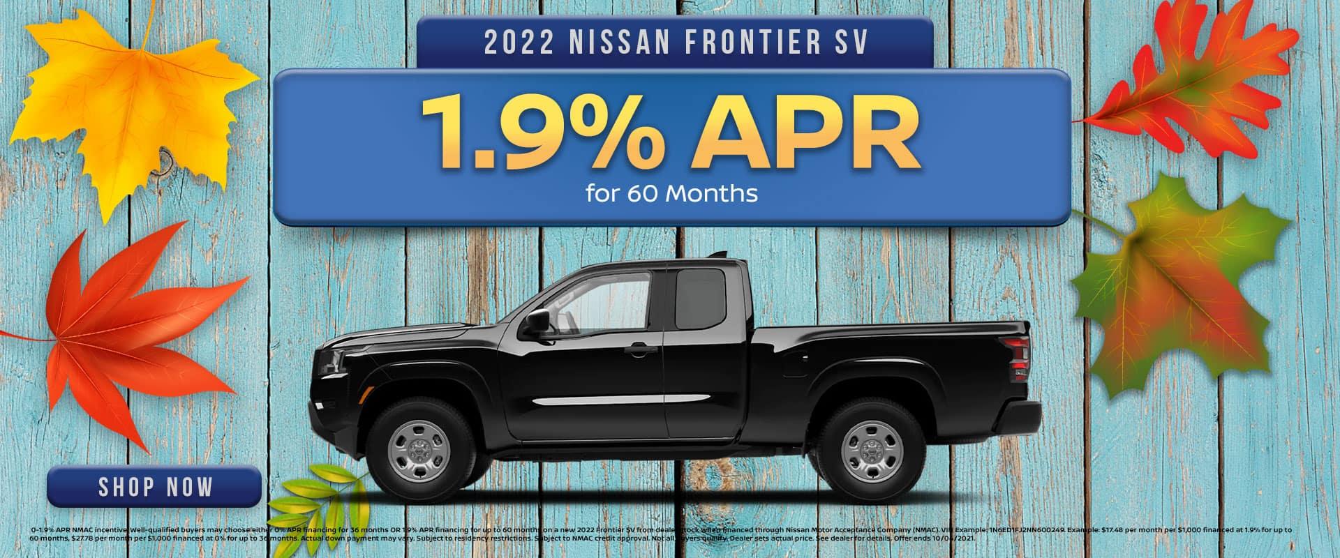 2022 Nissan Frontier Offer in Greenville, TX