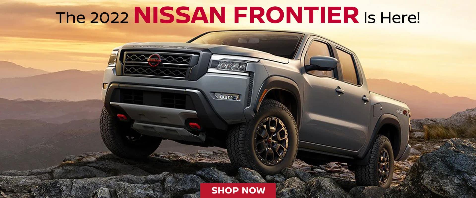 2022 Nissan Frontier in Stock