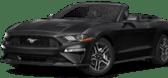 A black convertible
