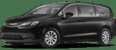 A black minivan