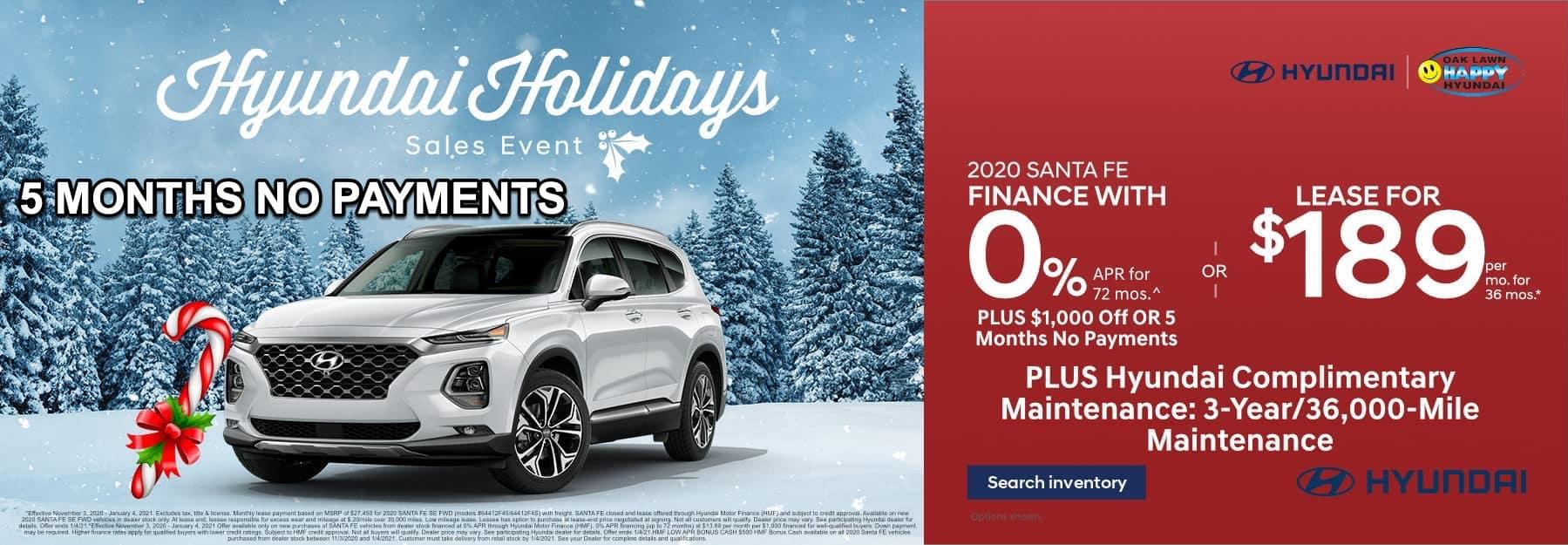 December-2020 Santa Fe_Happy Hyundai