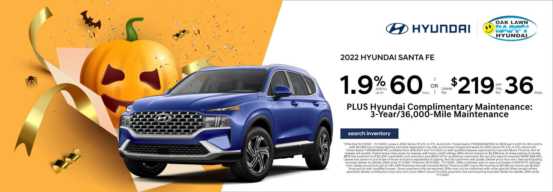 October_2021_Santa Fe_HAPPY Hyundai