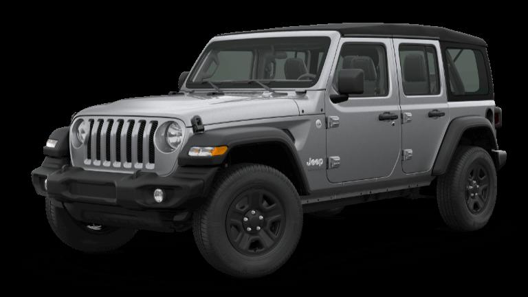 2020 Jeep Wrangler Unlimited Sport 4x4 in Billet Silver Metallic