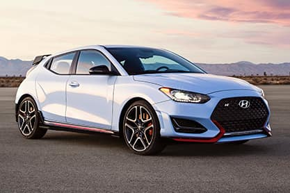 Select 2020 Hyundai Veloster Models in Stock