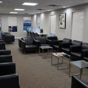 Patrick Hyundai Service Waiting Room