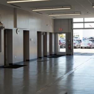 Patrick Hyundai Service Drive Interior