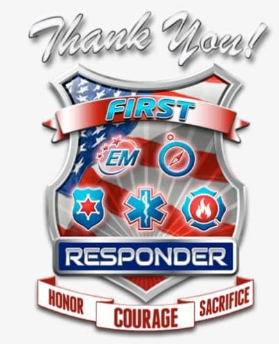Thank You to ALL First Responders and Essential Service Workers!