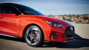 2021 Hyundai Veloster Driving