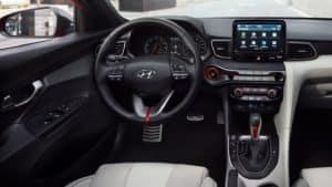 2021 Hyundai Veloster Dashboard